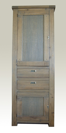Cupboard Antique 80x38x210 cm