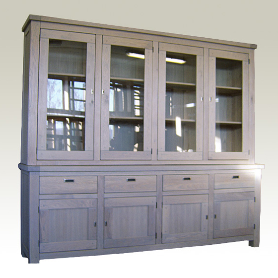 Cabinet Showcase Antique 240x47x210 cm